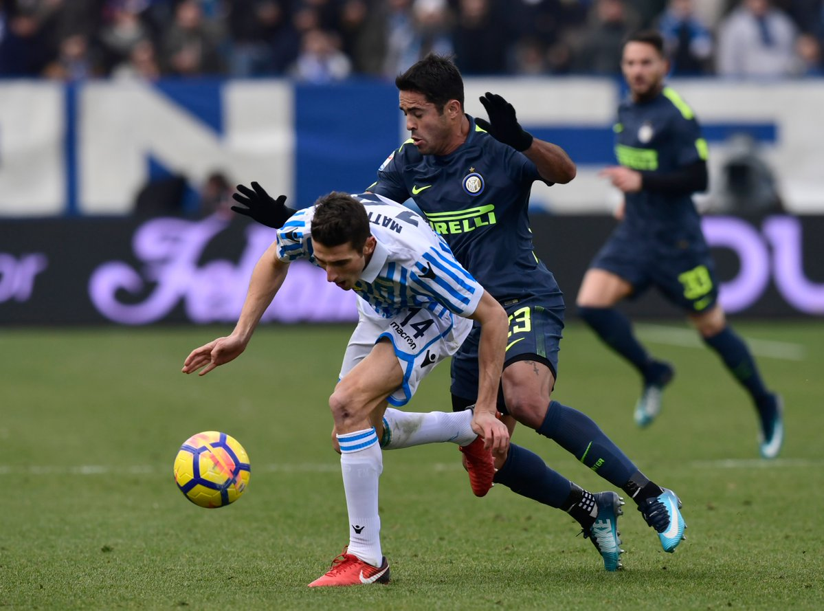 SPAL 1 INTER 1: PALOSCHI EXTENDS NERAZZURRI'S WINLESS RUN