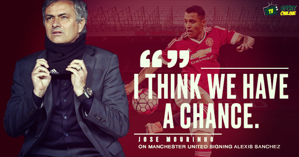 'I think we have a chance' – Jose Mourinho on bringing Alexis Sanchez to Manchester United