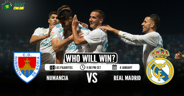 Numancia vs Real Madrid