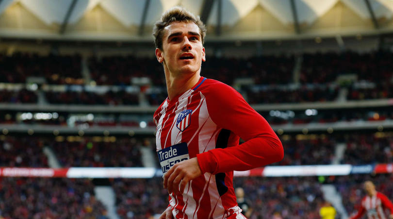 ATLETICO MADRID 3 LAS PALMAS 0: GRIEZMANN & TORRES CUT BARCA LEAD TO EIGHT