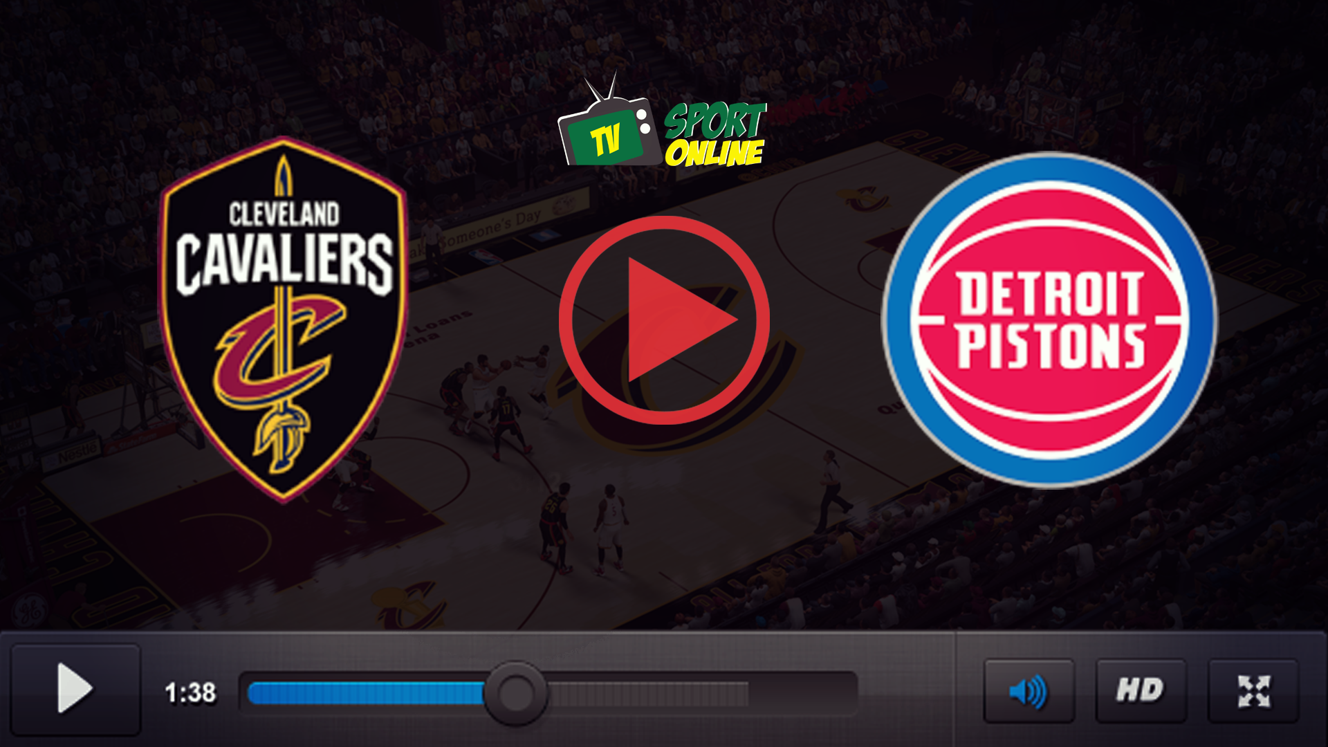 Watch Live Stream Cleveland Cavaliers – Detroit Piston