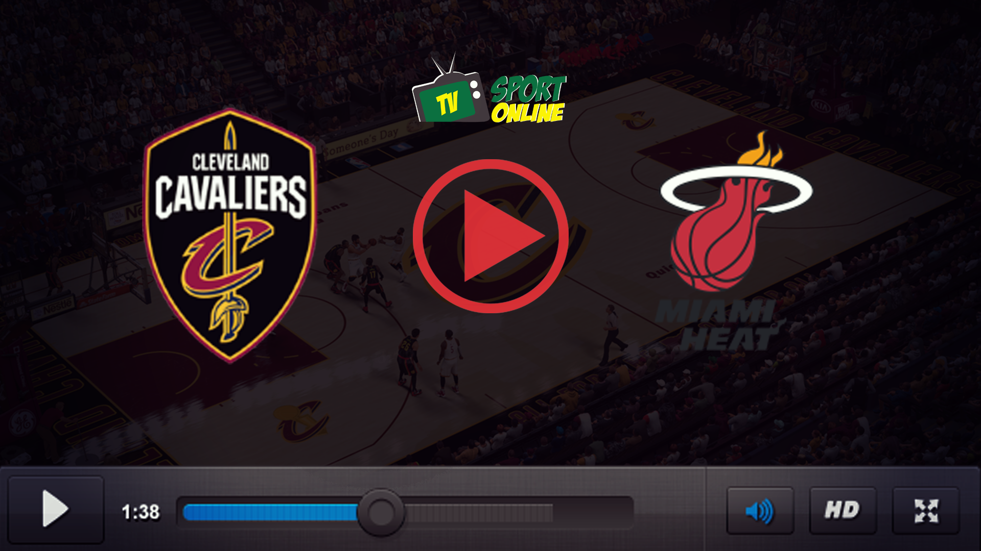 Watch Live Stream Cleveland Cavaliers – Miami Heat