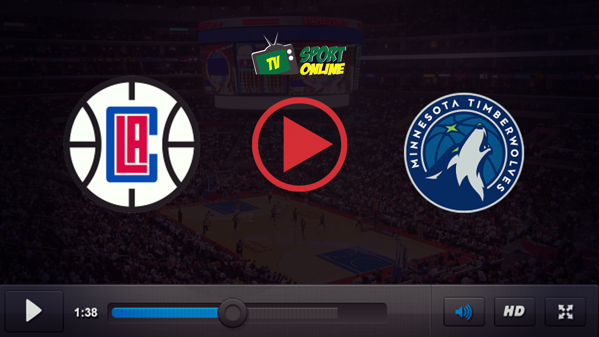 Watch Live Stream Los Angeles Clippers – Minnesota Timberwolves