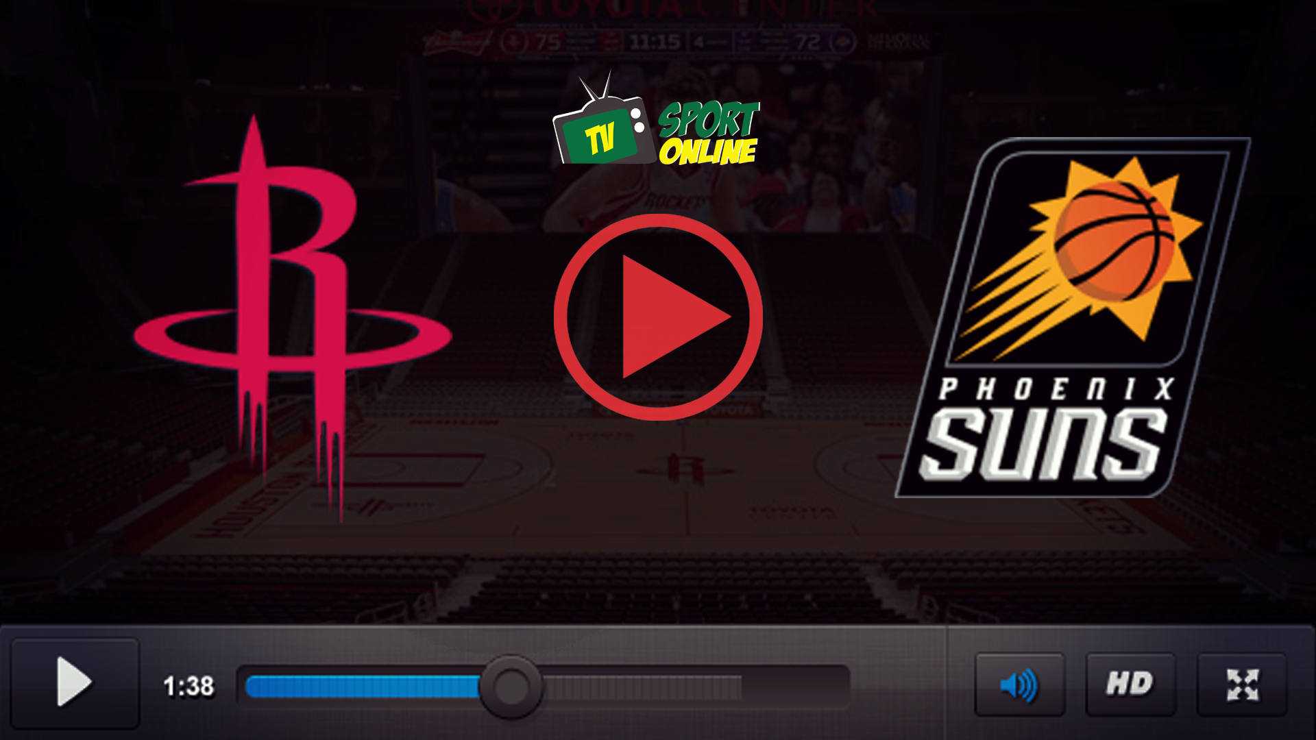 Watch Live Stream Houston Rockets – Phoenix Suns