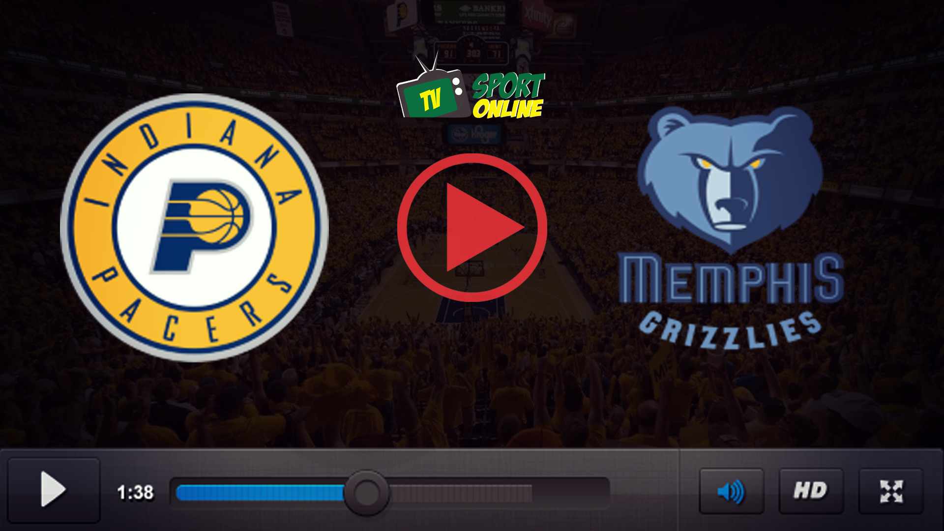 Watch Live Stream Indiana Pacers – Memphis Grizzlies