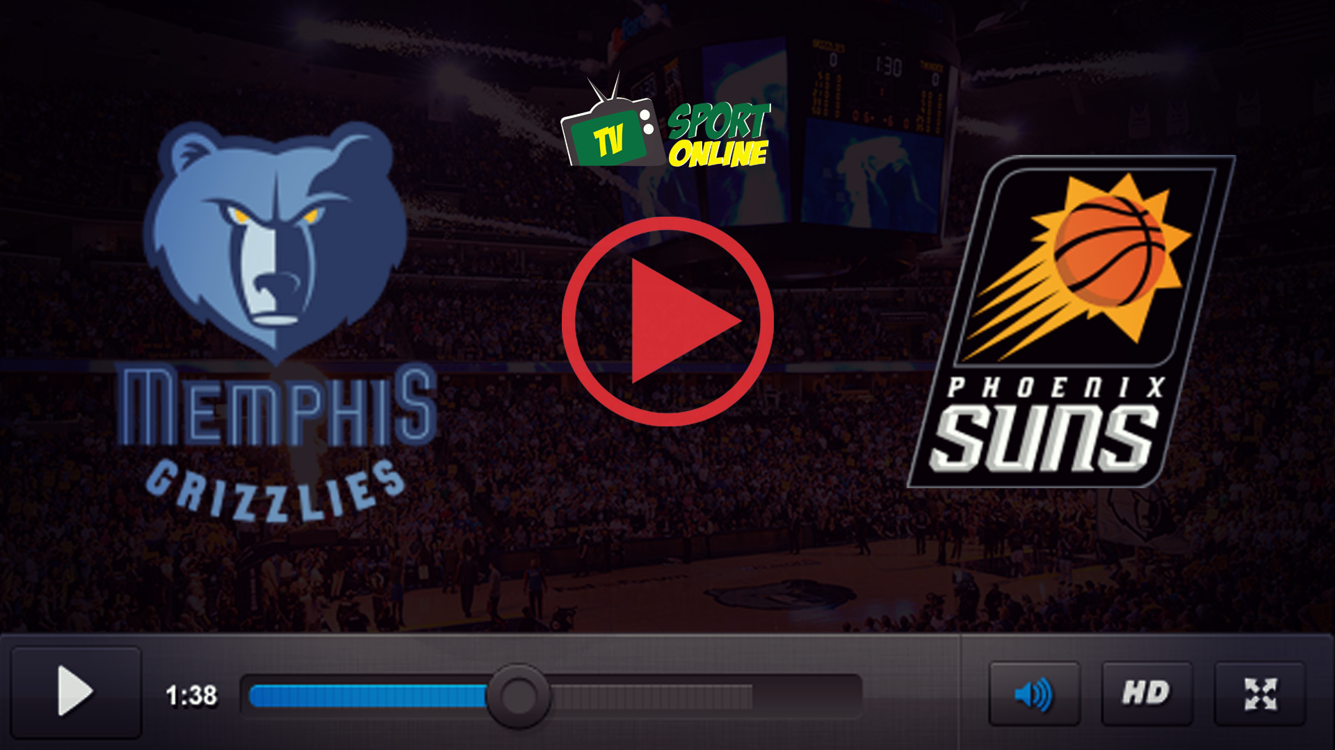 Watch Live Stream Memphis Grizzlies – Phoenix Suns
