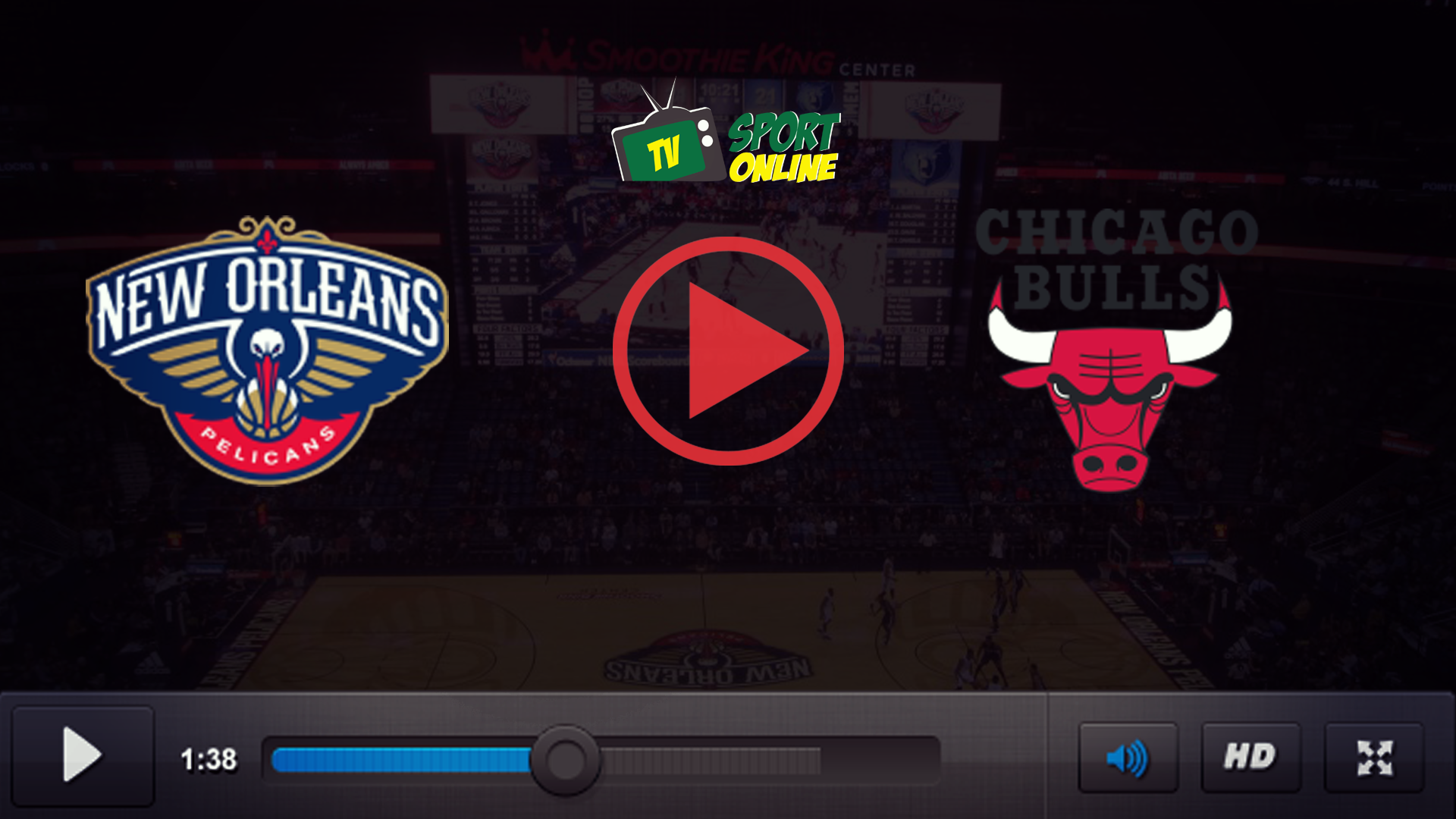 Watch Live Stream New Orleans Pelicans – Chicago Bulls