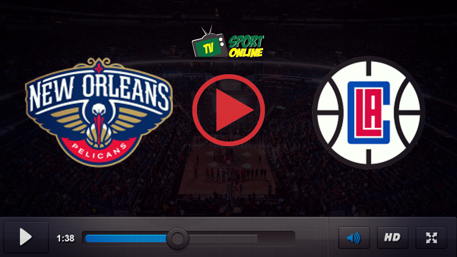 Watch Live Stream New Orleans Pelicans – Los Angeles Clippers
