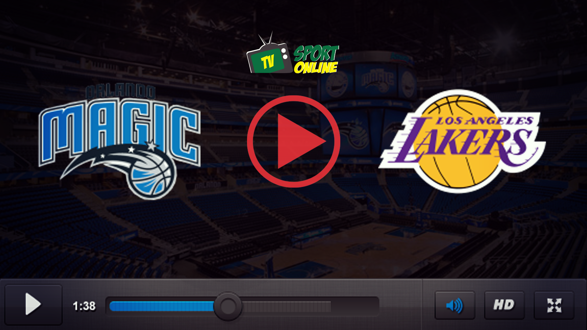 Watch Live Stream Orlando Magic – Los Angeles Lakers