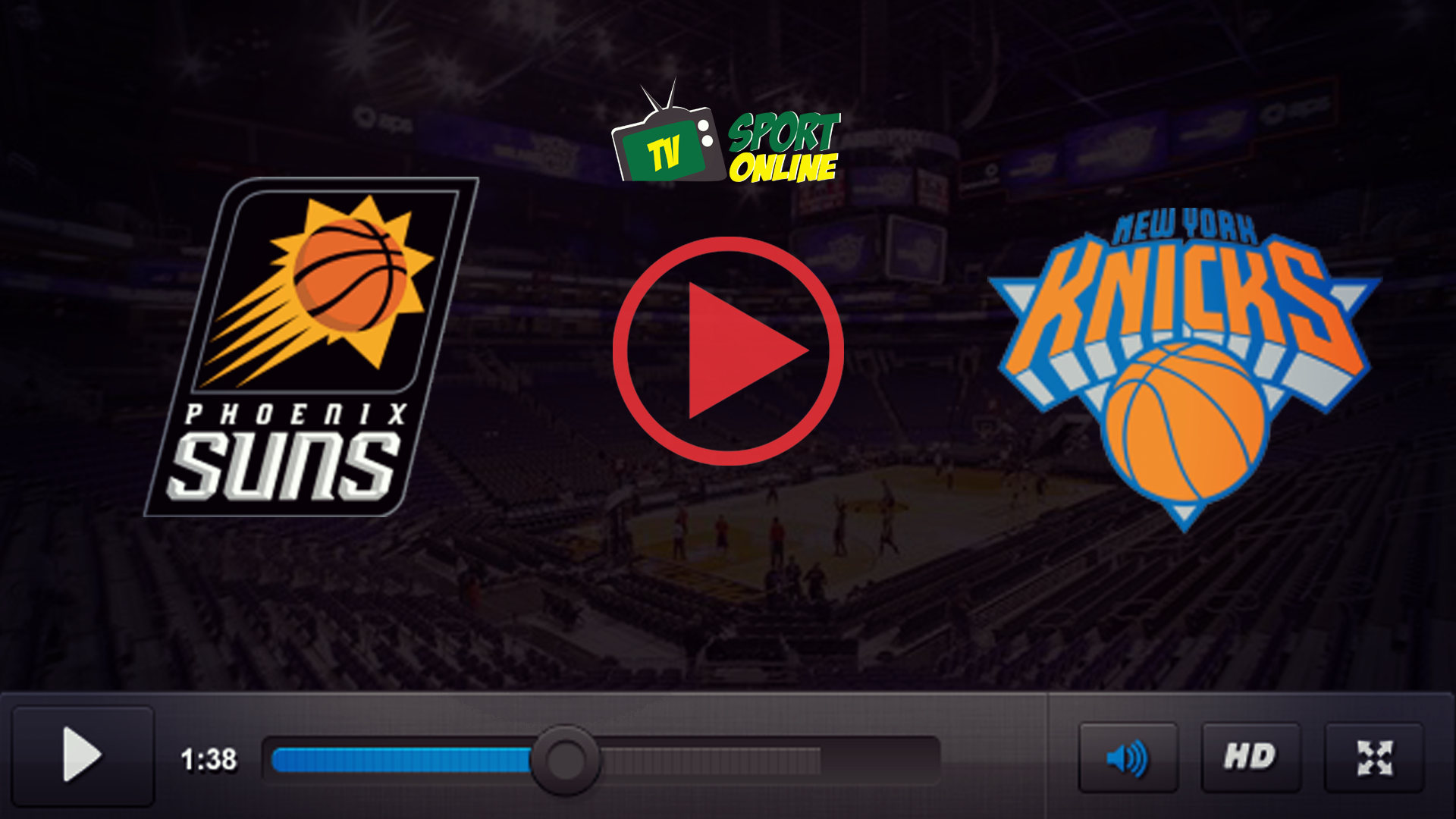 Watch Live Stream Phoenix Suns – New York Knicks