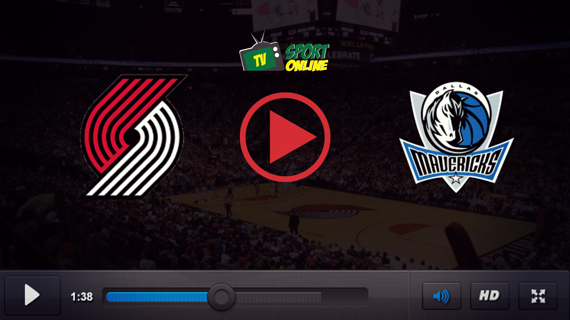 Watch Live Stream Portland Trail Blazers – Dallas Mavericks
