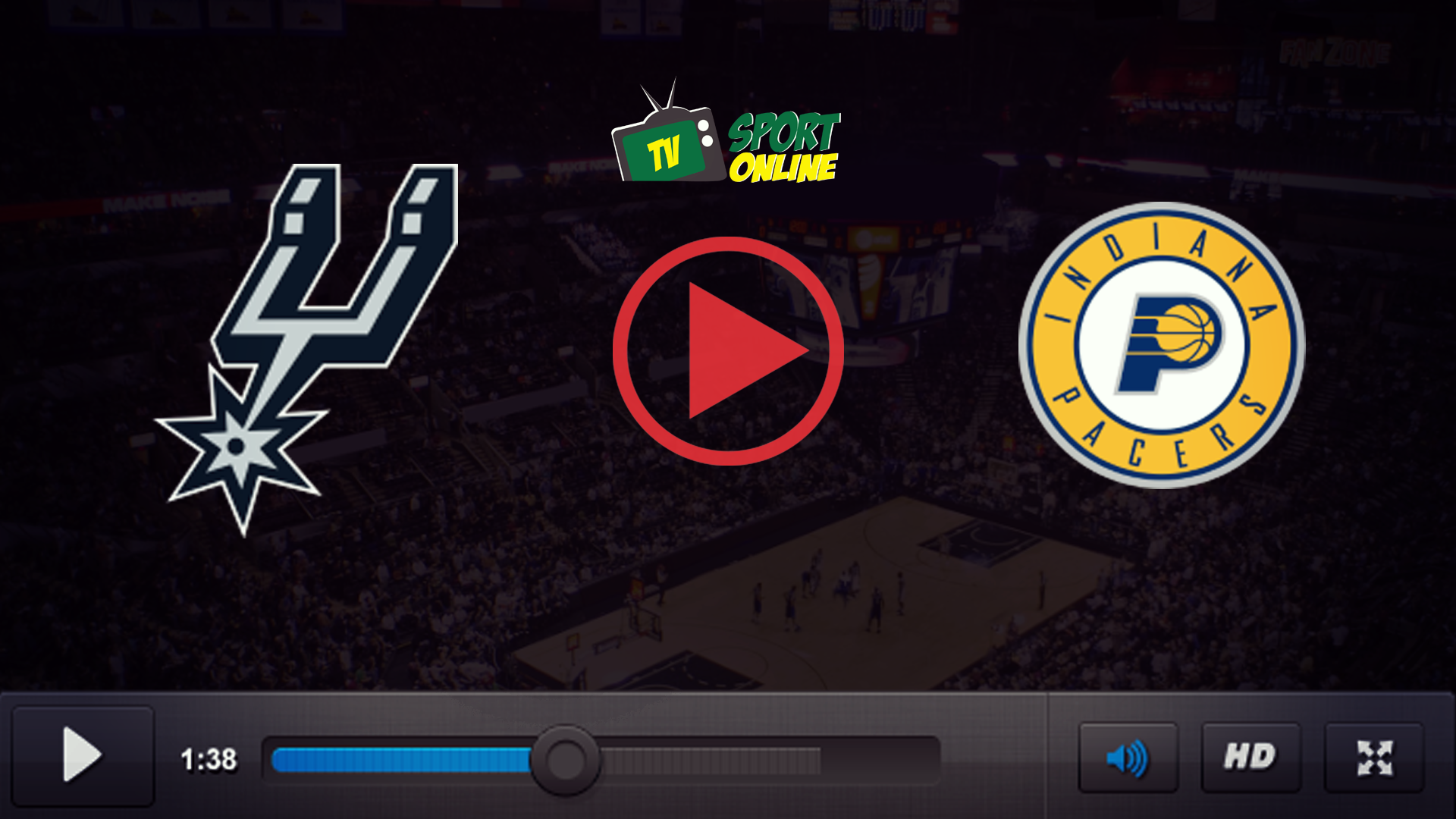 Watch Live Stream San Antonio Spurs – Indiana Pacers