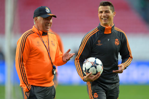 Ronaldo backed by Ancelotti to lead Real Madrid's challenge for Champions League three-peat