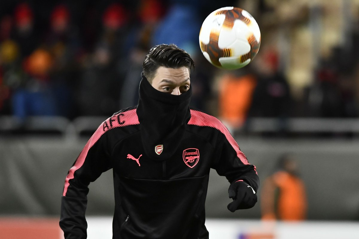 Ostersunds 0 Arsenal 3: Ozil crowns Arctic stroll for Wenger's men