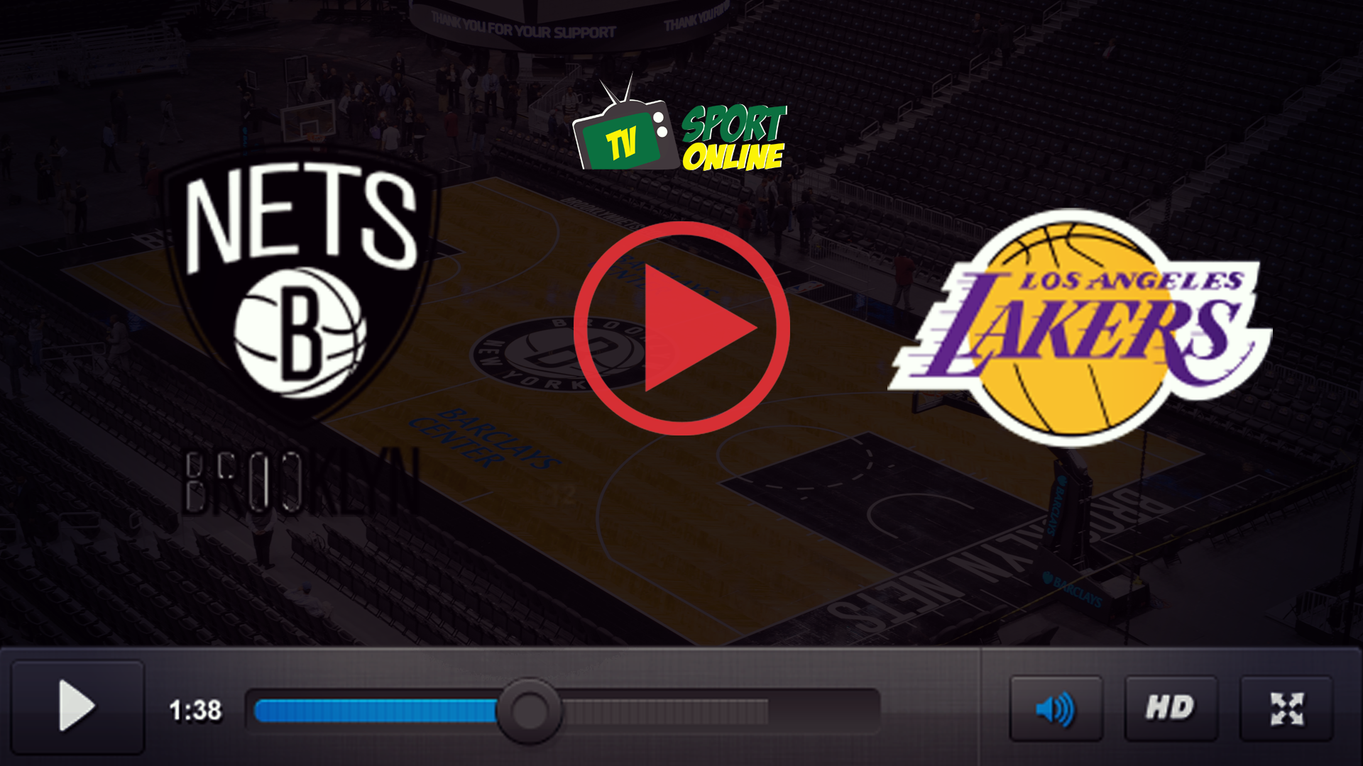 Watch Live Stream Brooklyn Nets – Los Angeles Lakers