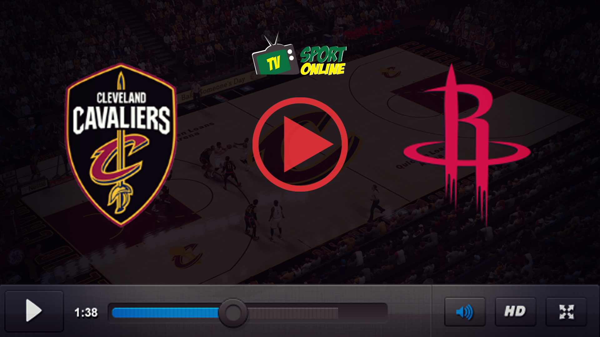 Watch Live Stream Cleveland Cavaliers – Houston Rockets
