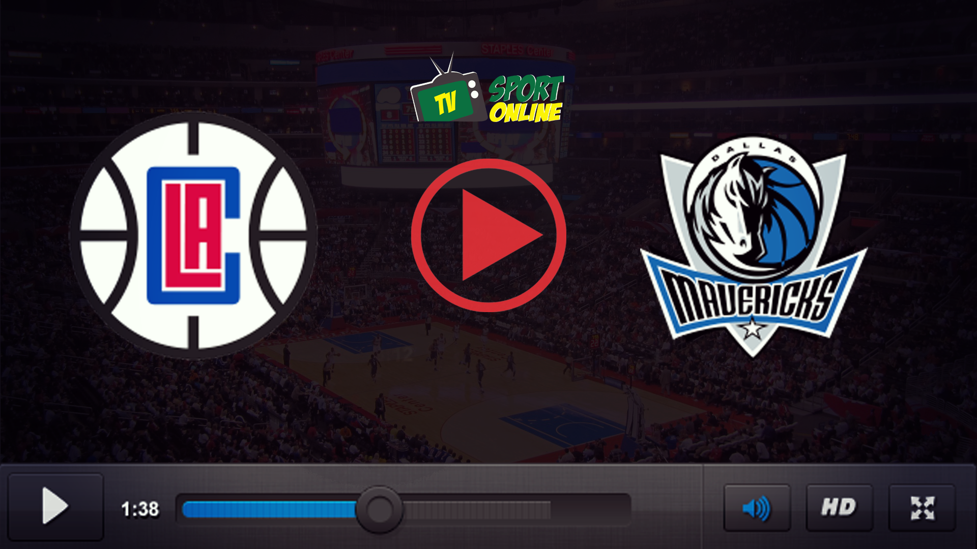 Watch Live Stream Los Angeles Clippers – Dallas Mavericks