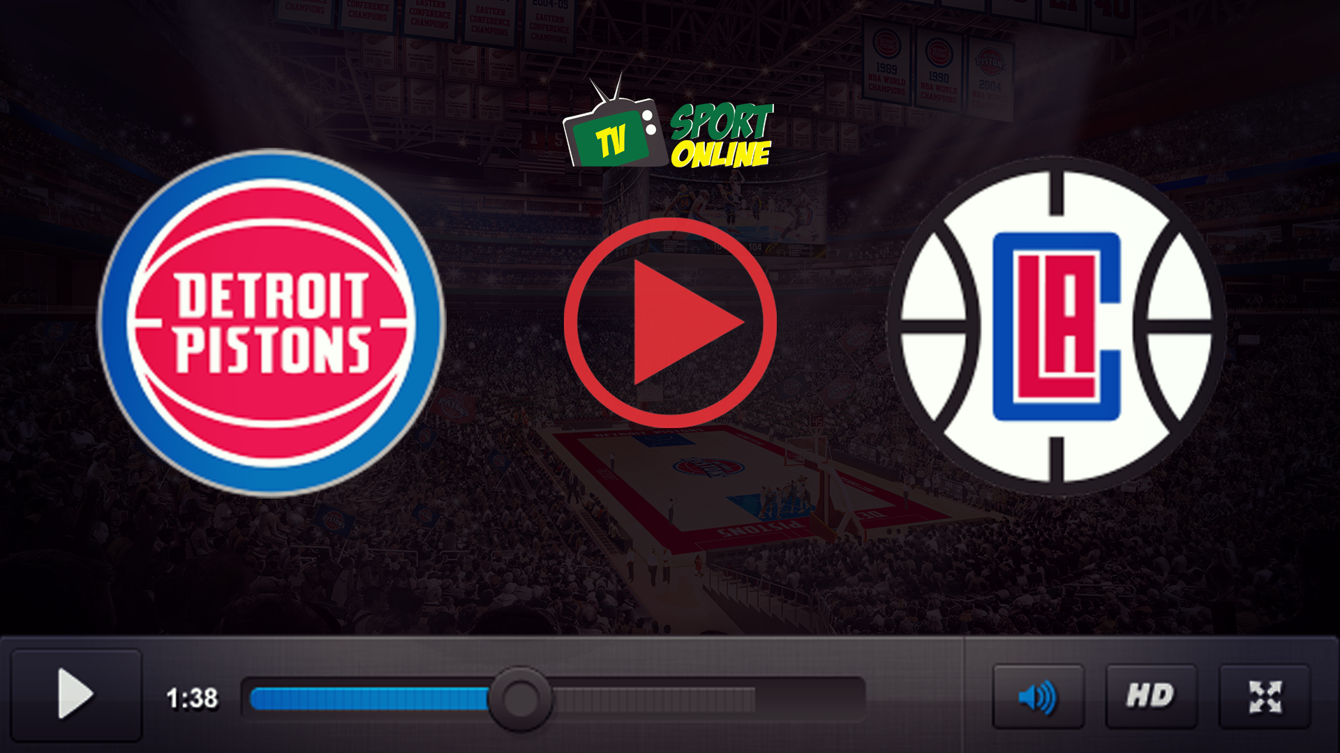 Watch Live Stream Detroit Pistons – Los Angeles Clippers