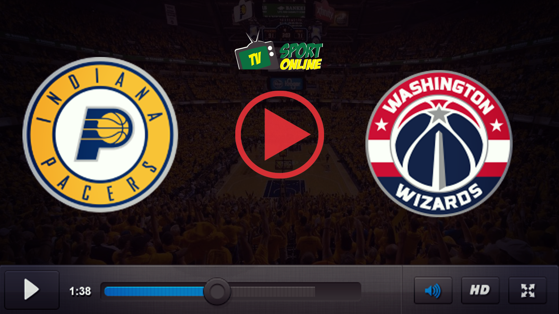 Watch Live Stream Indiana Pacers – Washington Wizards