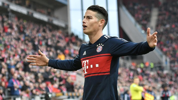 James Rodriguez is a 'godsend' – Heynckes