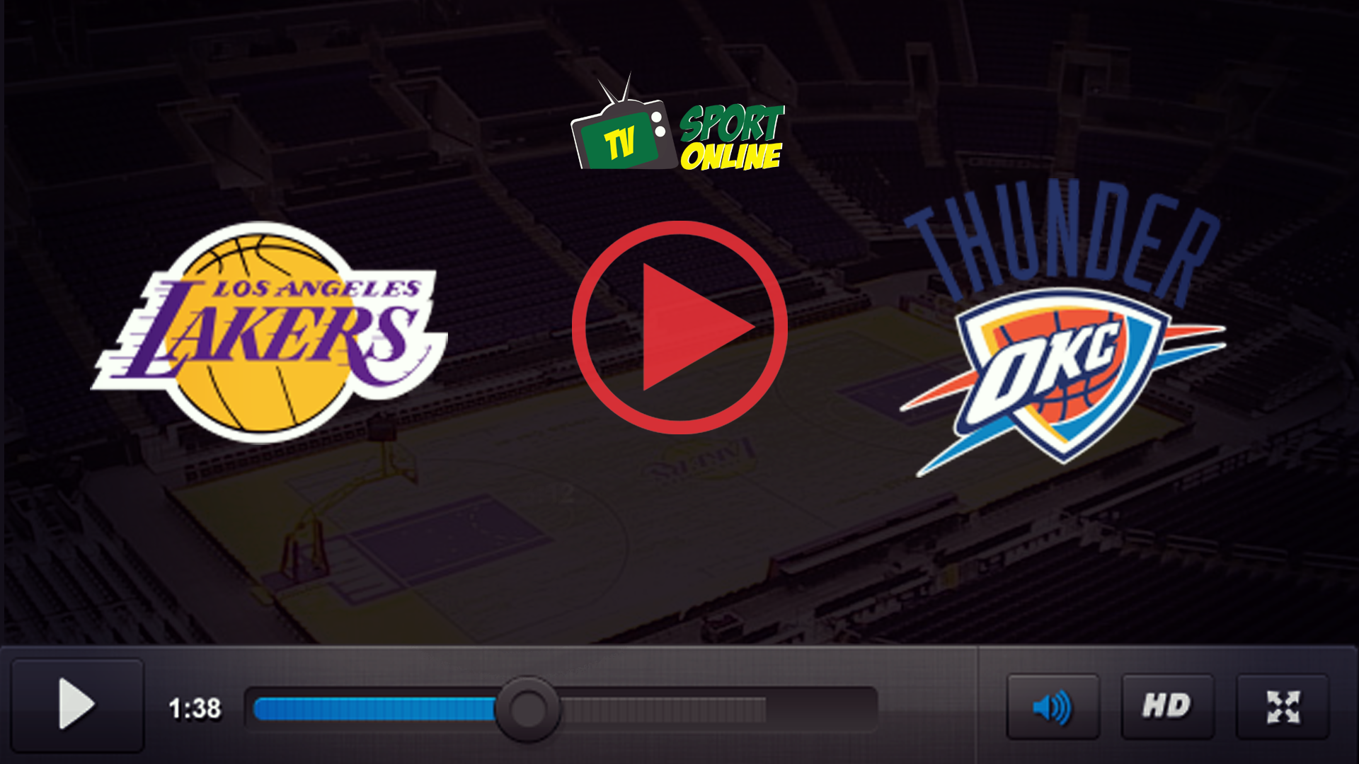 Watch Live Stream Los Angeles Lakers – Oklahoma City Thunder