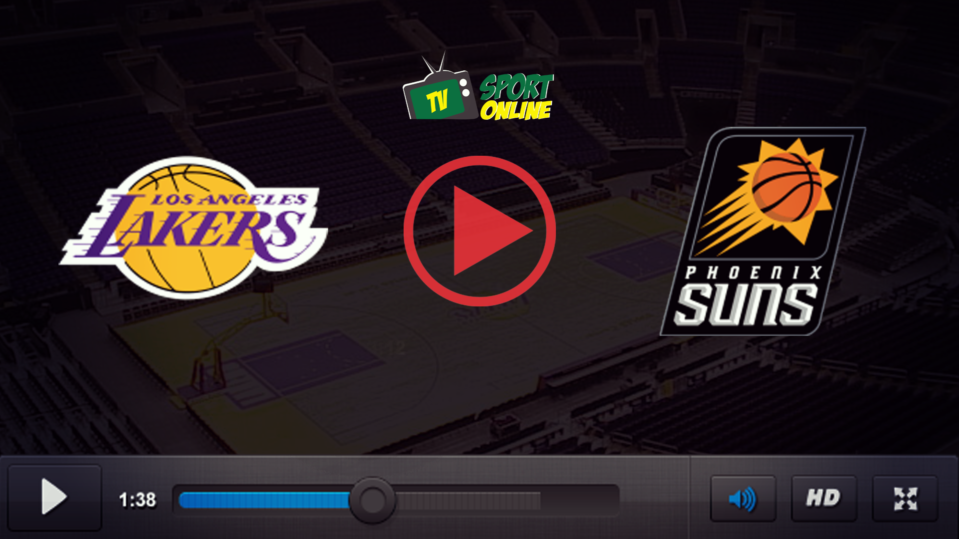 Watch Live Stream Los Angeles Lakers – Phoenix Suns