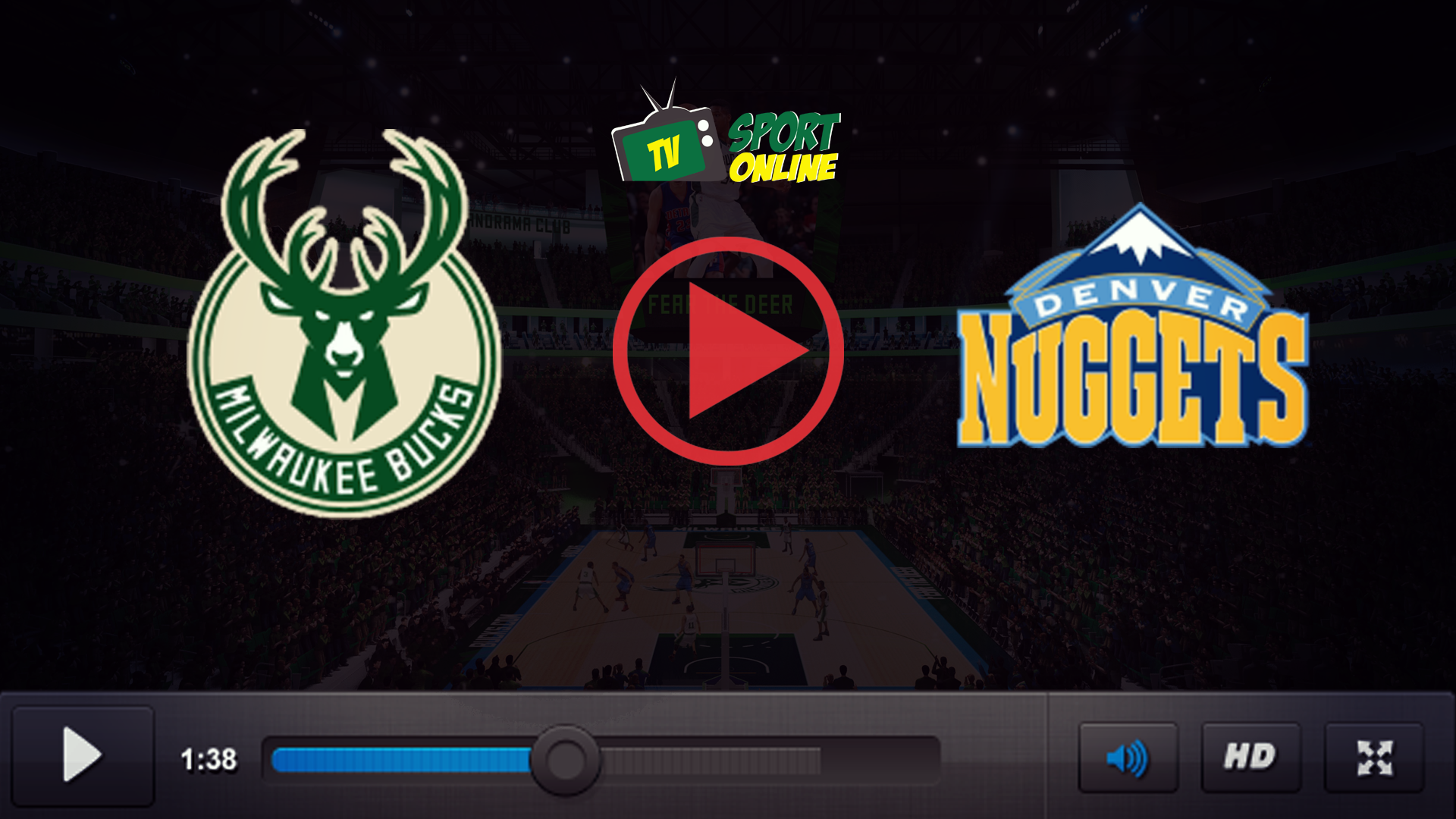 Watch Live Stream Milwaukee Bucks – Denver Nuggets
