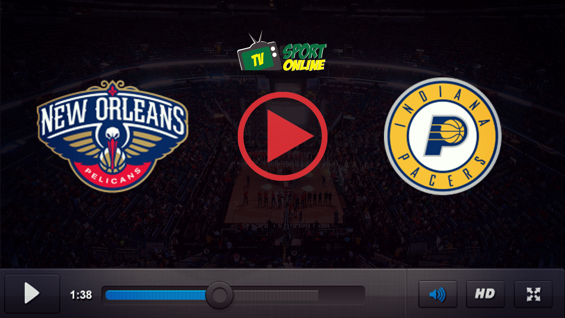 Watch Live Stream New Orleans Pelicans – Indiana Pacers