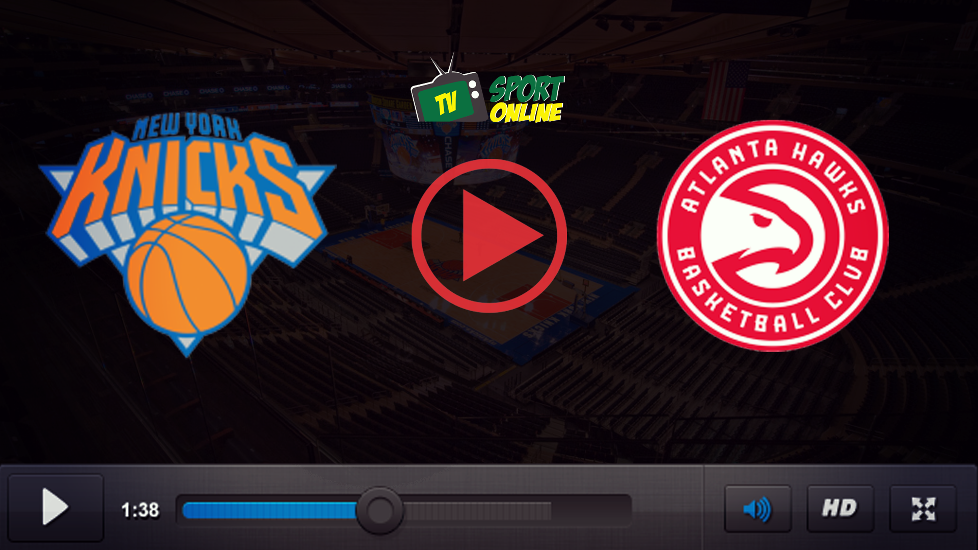 Watch Live Stream New York Knicks – Atlanta Hawks