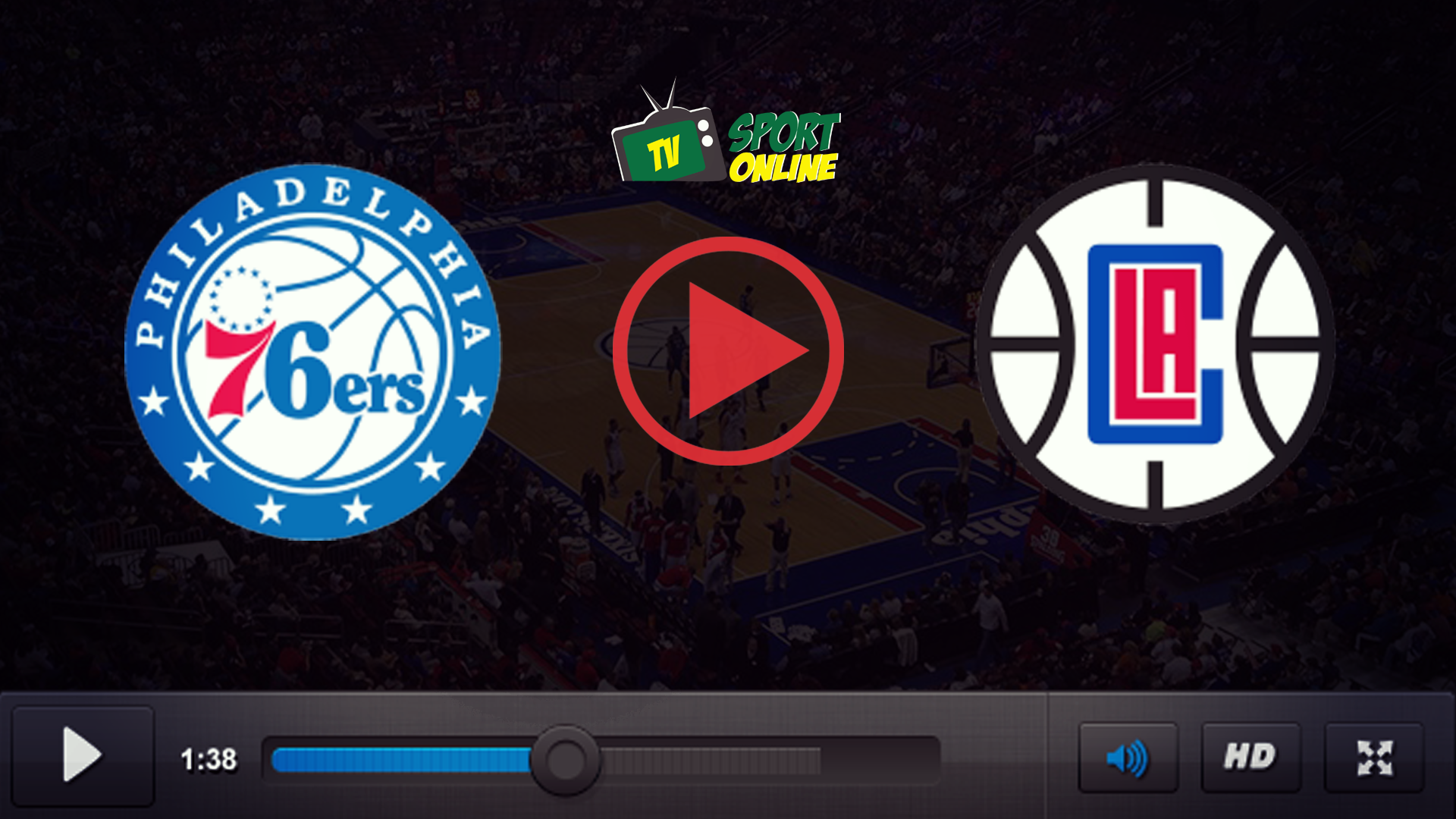 Watch Live Stream Philadelphia 76ers – Los Angeles Clippers