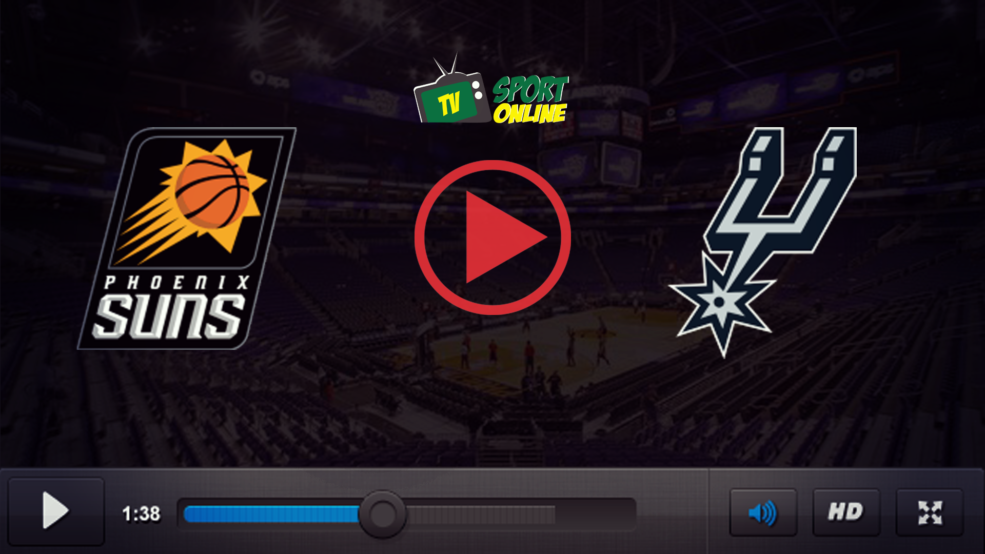 Watch Live Stream Phoenix Suns – San Antonio Spurs