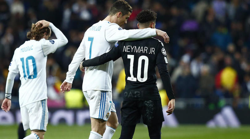 What Ronaldo told Neymar during Real Madrid 3-1 win over PSG