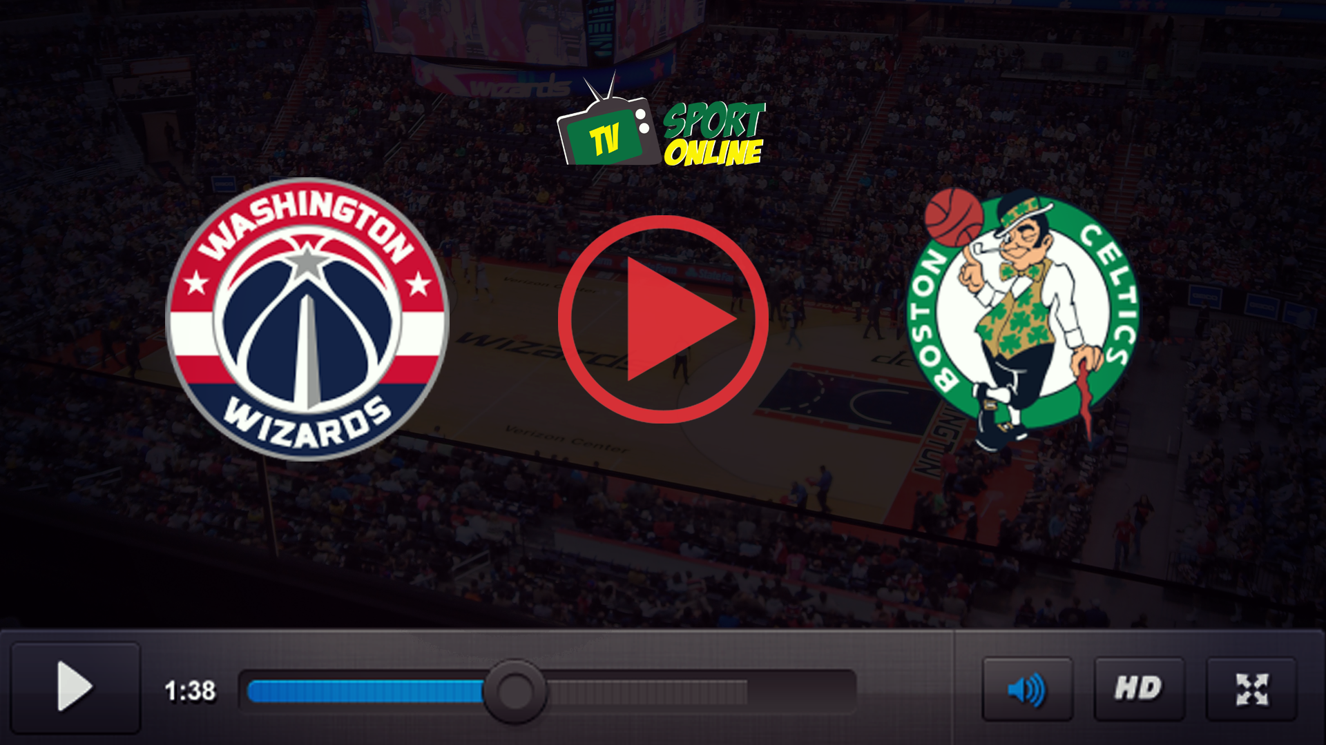 Watch Live Stream Washington Wizards – Boston Celtics