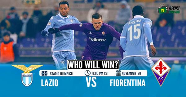 Lazio v Fiorentina