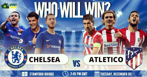 Chelsea vs Atlético Madrid