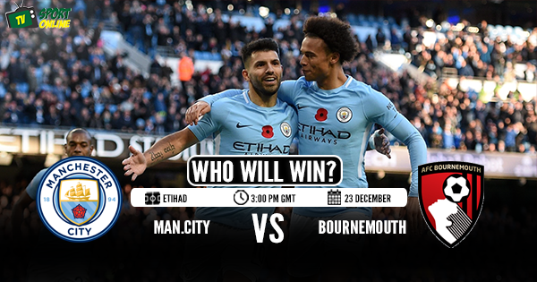 Manchester City vs Bournemouth