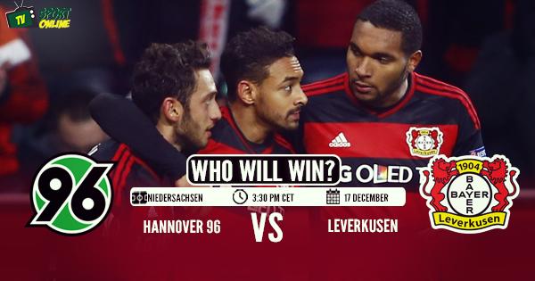 Hannover 96 vs Bayer 04 Leverkusen