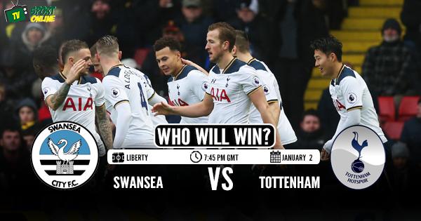 Swansea City vs Tottenham Hotspur