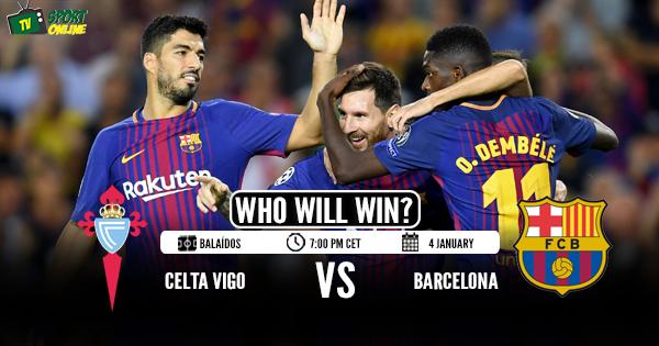 Celta Vigo vs Barcelona