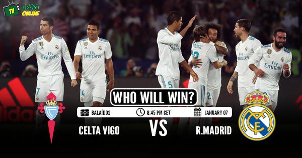 Celta Vigo vs Real Madrid
