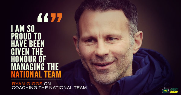 Ryan Giggs: New Wales boss interview
