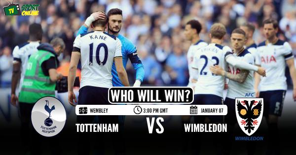 Tottenham Hotspur vs AFC Wimbledon