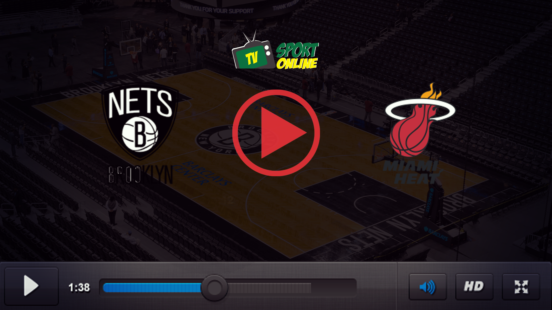 Watch Live Stream Brooklyn Nets – Miami Heat