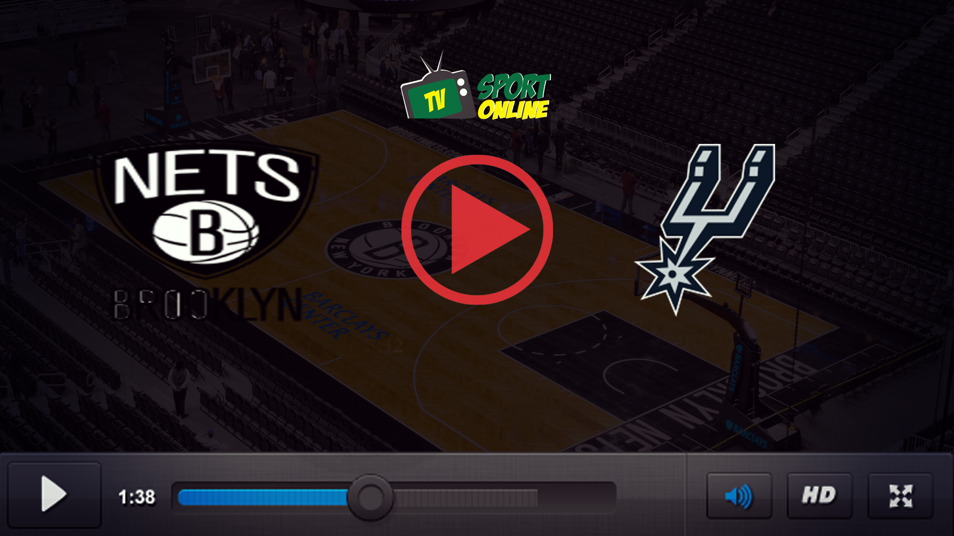 Watch Live Stream Brooklyn Nets – San Antonio Spurs