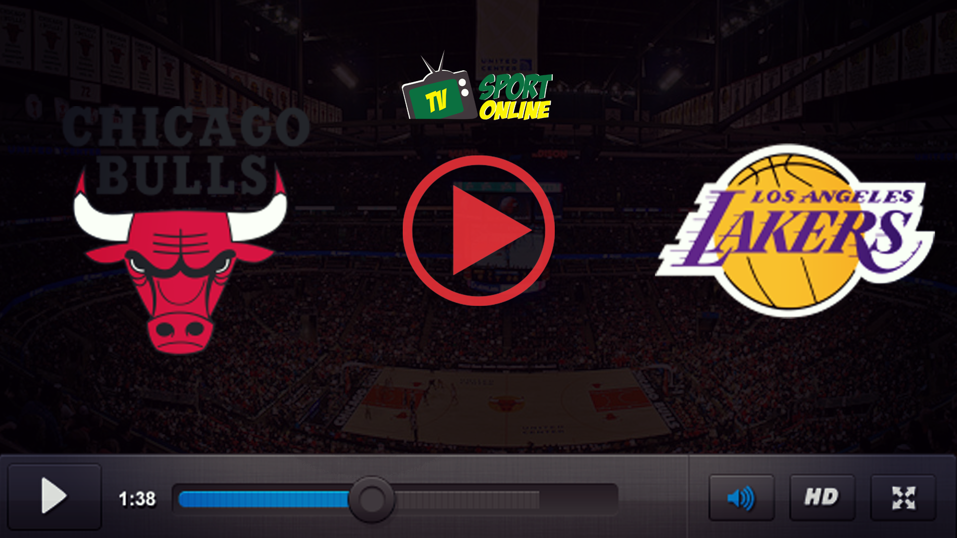 Watch Live Stream Chicago Bulls – Los Angeles Lakers