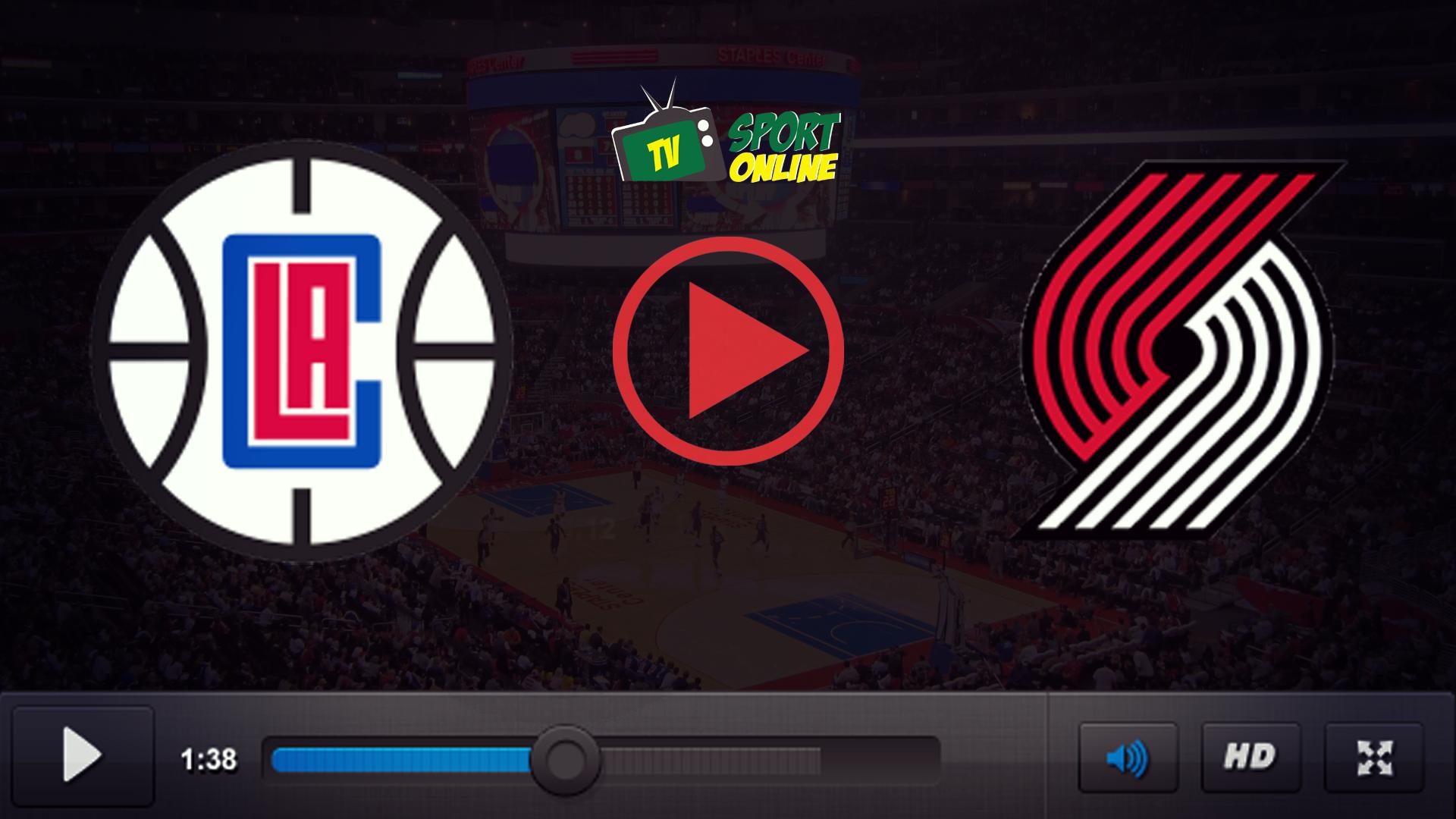 Watch Live Stream Los Angeles Clippers – Portland Trail Blazers