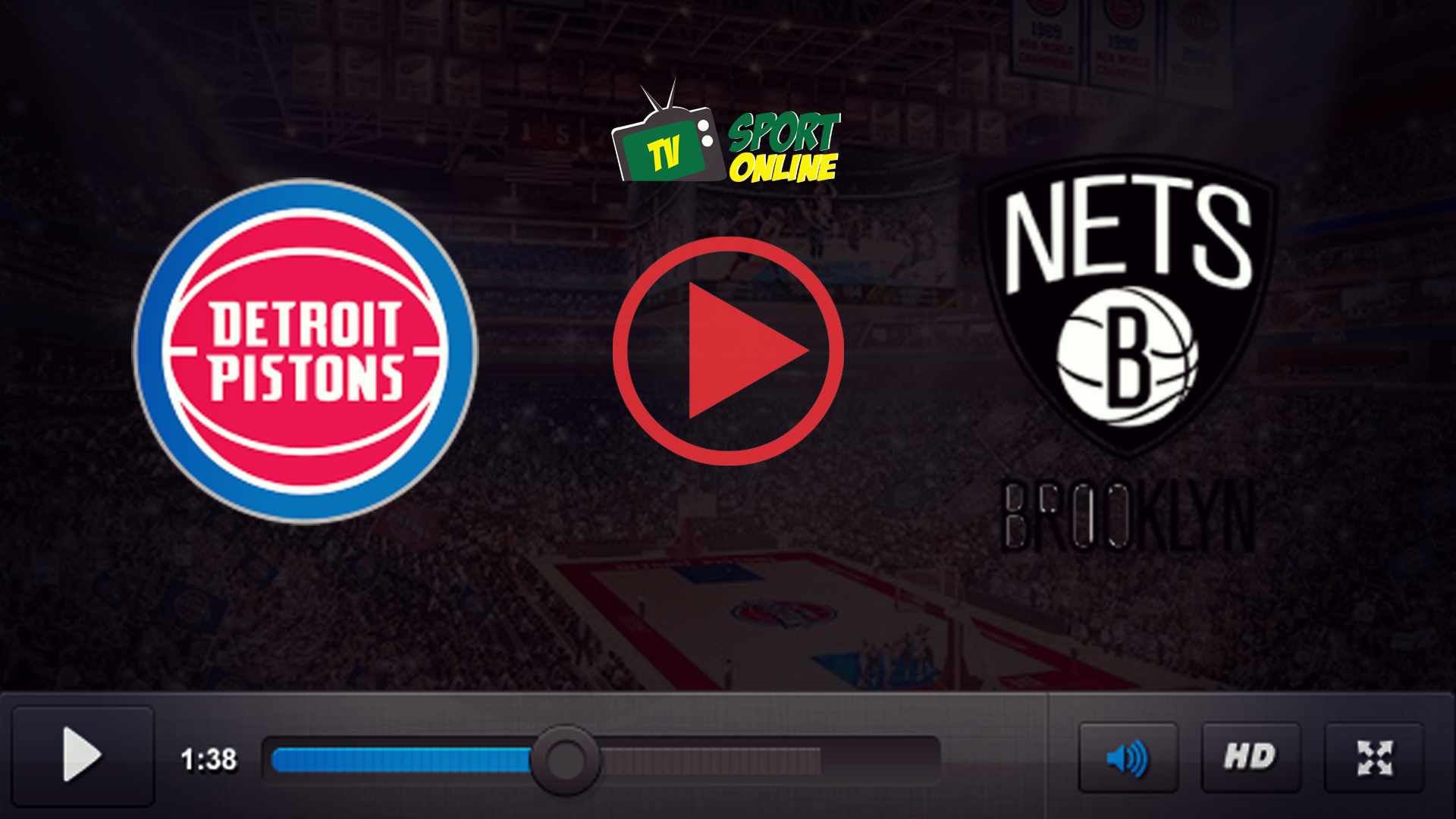 Watch Live Stream Detroit Pistons – Brooklyn Nets
