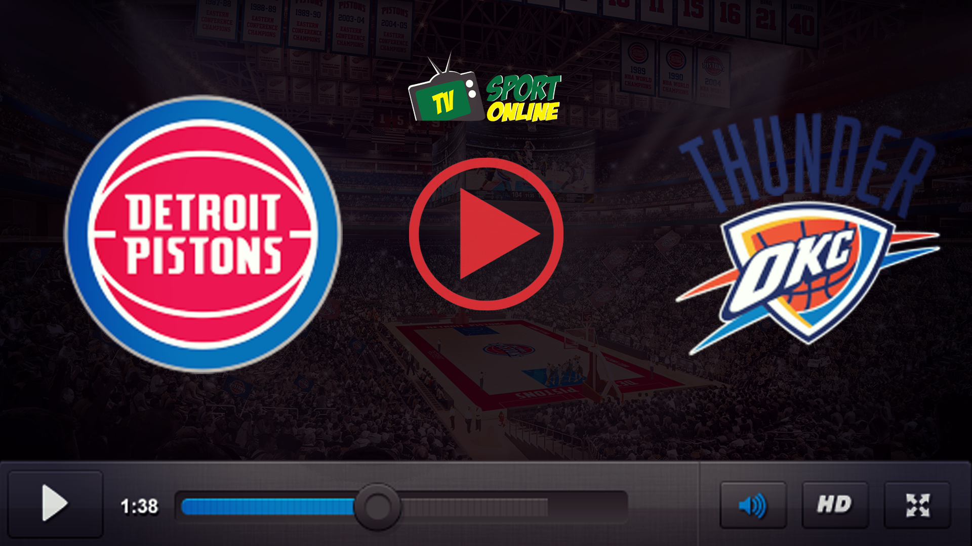 Watch Live Stream Detroit Pistons – Oklahoma City Thunder