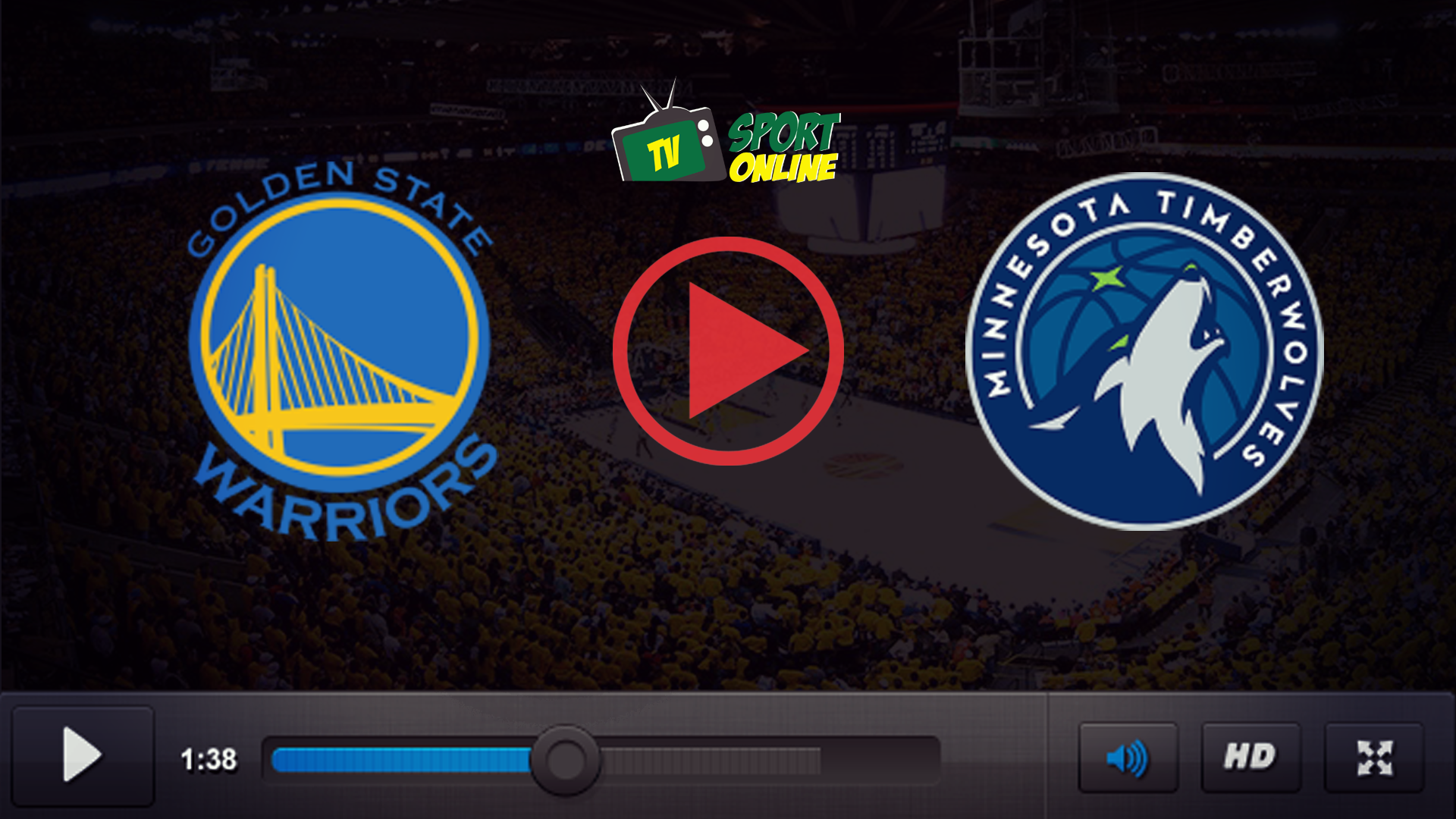 Watch Live Stream Golden State Warriors – Minnesota Timberwolves