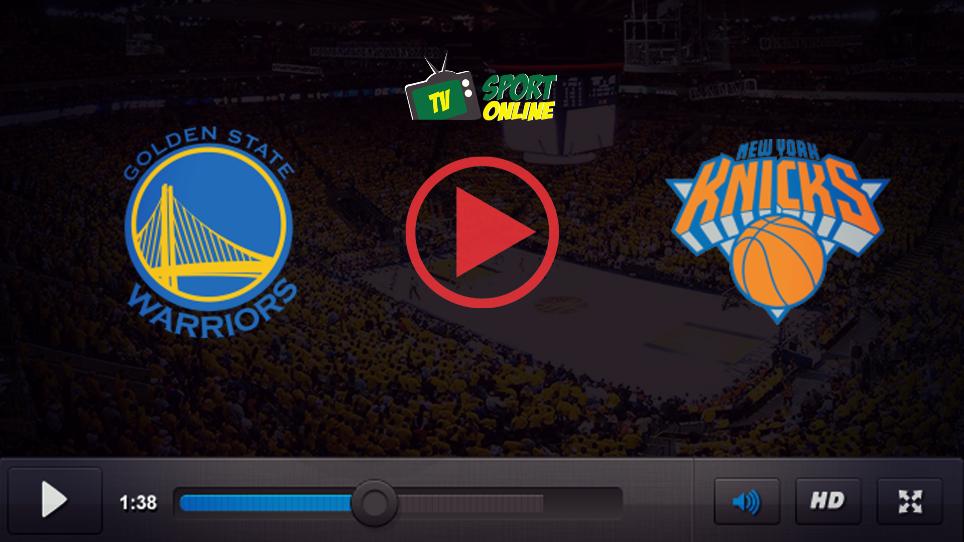 Watch Live Stream Golden State Warriors – New York Knicks